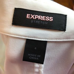Express Tops - 3/$27 Express White Button Down Career Top